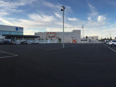 Zona de aparcamiento CEIP Monzón 3