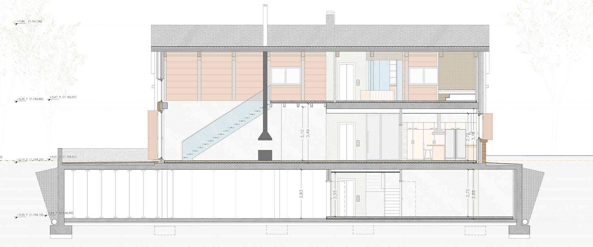 vivienda unifamiliar en benasque diseño y arquectura