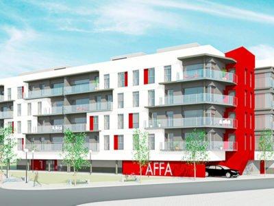 Vivienda colectiva Edificio AFFA