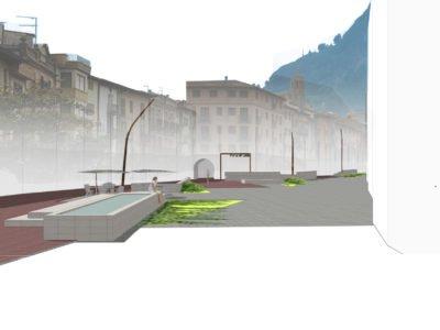 Reurbanización calle Barranco en Graus