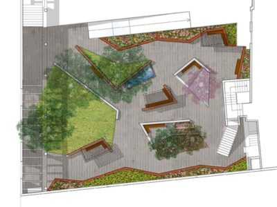 Jardín Residencia de ancianos