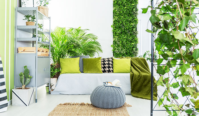 como incluir un jardin interior en casa
